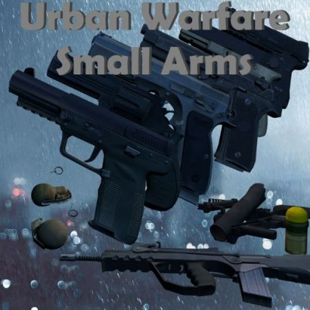 Sui's Urban Warfare Small Arms Pack