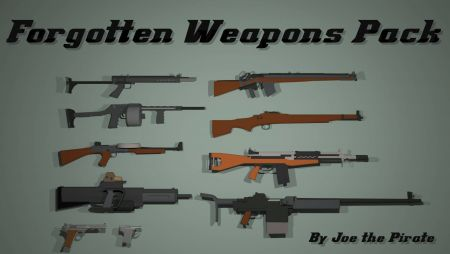 Forgotten Weapons Pack