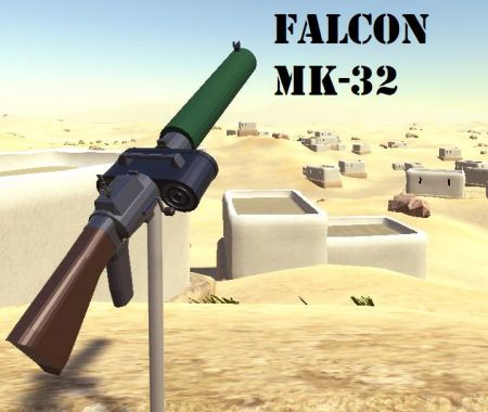 Falcon MK-32 Autorifle [RE-MASTERED]