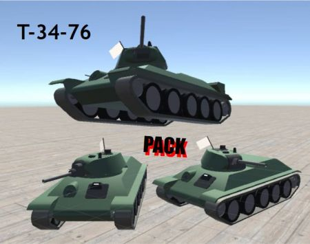 T-34-76 Variants