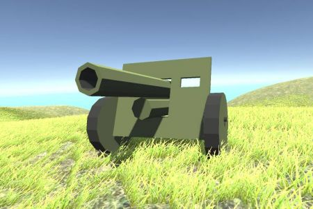 Light Artillery Gun
