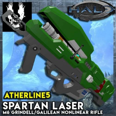 [Halo Project] Spartan Laser (M6 Grindell/Galilean Nonlinear Rifle)