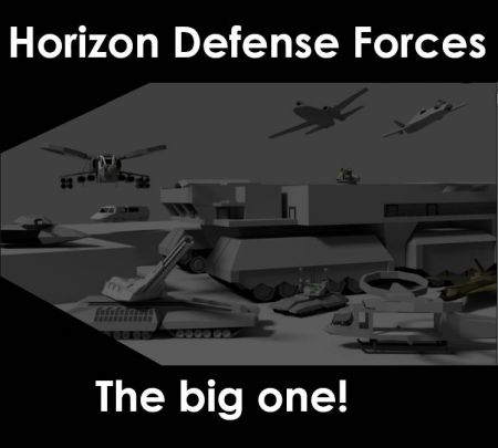 The Horizon Defense Forces Pack