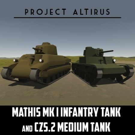 (Project Altirus) Medium Tanks of the Second Leersog War