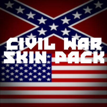Civil War Skin Pack