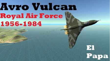 Avro Vulcan Strategic Bomber