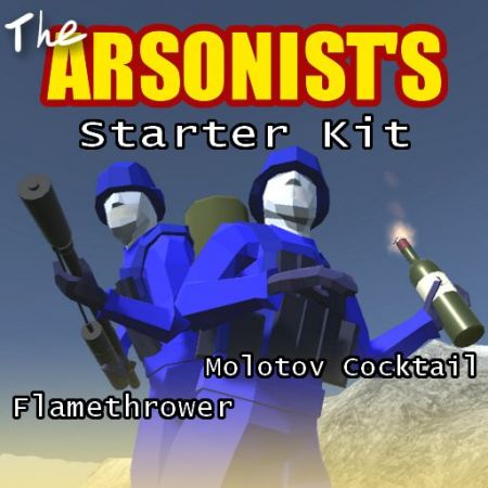 The Arsonist's Starter Kit - Flamethrower and Molotov Cocktail