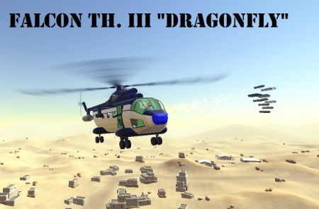 "Falcon TH. III ""Dragonfly"" Armed Transport Heli"