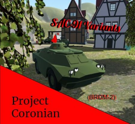 SAC-91 Variants {Project Coronian}