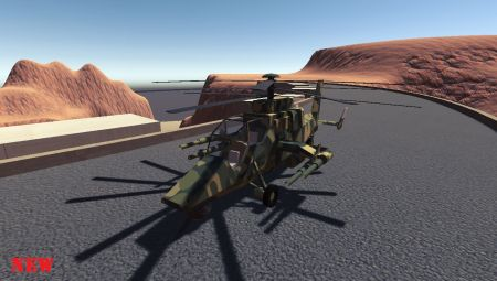 Upgraded Helicopter