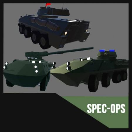 [SPEC OPS] LAV-25 Variants