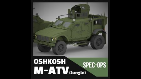 OshkoshM M-ATV [JUNGLE] (Spec Ops Project)
