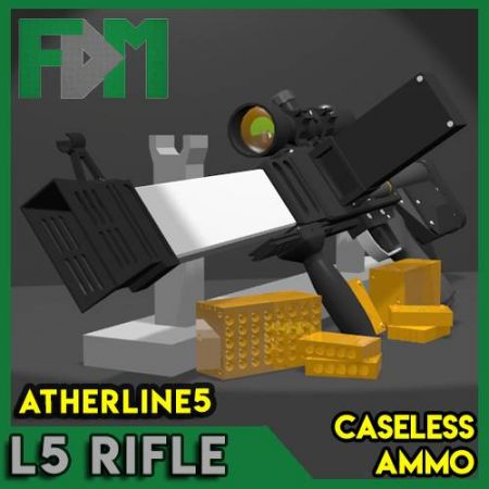L5 Caseless Ammo Rifle