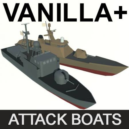 Vanilla + Attack Boats