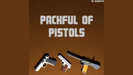 Packful of Pistols