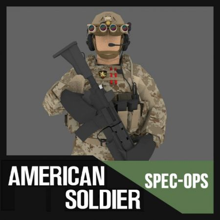 American Soldier Pack (Spec Ops Project)