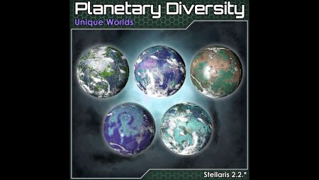 Planetary Diversity - Unique Worlds