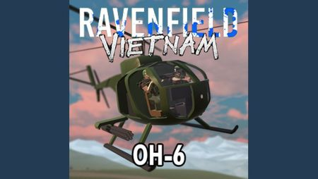 Project Vietnam - OH-6 Helicopter