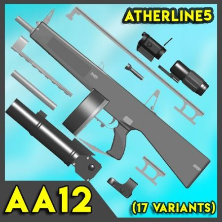 AA12 (Auto Assault Shotgun)