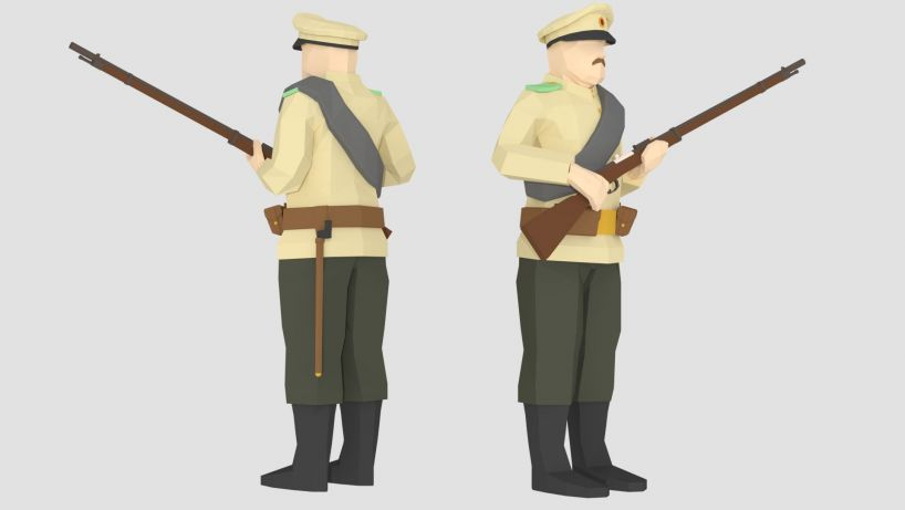 Skin Skins Of The Years Of Fire Russian Uniforms Of The Early