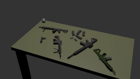 Citadel Weapons Pack