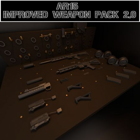 AR-15: Improved Weapon Pack 2.0