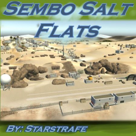 Sembo Salt Flats; Strafe-Running Action