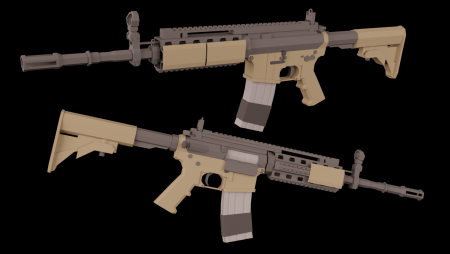 MW2 M4A1 (Beta-branch required)