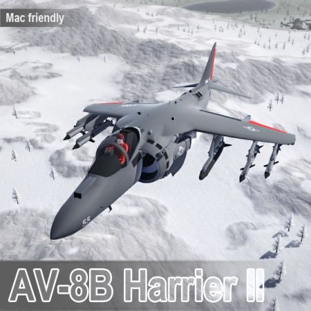 AV-8B Harrier II VTOL