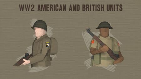 WW2 American and British Units