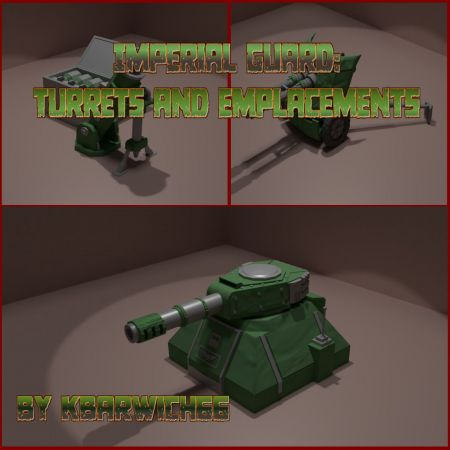 Imperial Guard: Turrets and Emplacements