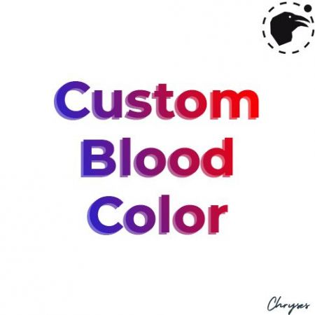 Custom Blood Color