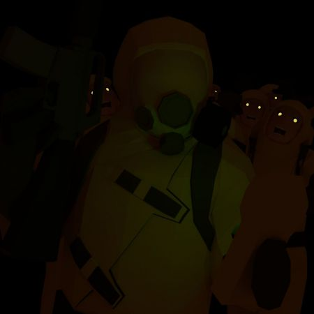 Walking in a Mask - Generic Hazmat Skin