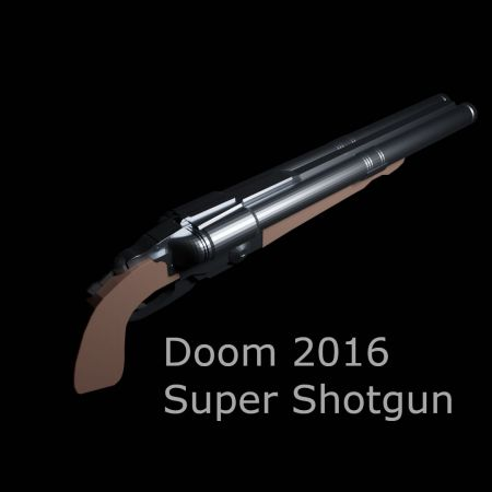 Doom 2016 Super Shotgun