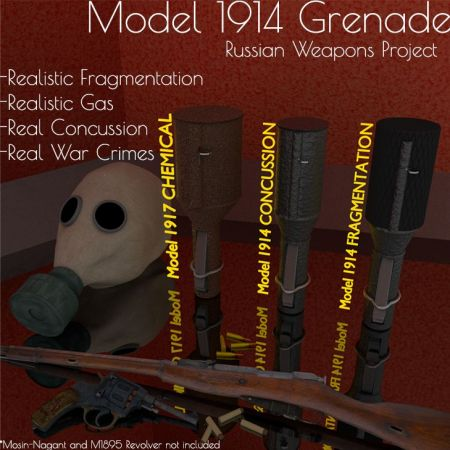 Model 1914 Grenade(s) (Russian Weapons Project)