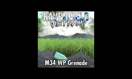 Project Vietnam - M34 WP Grenade