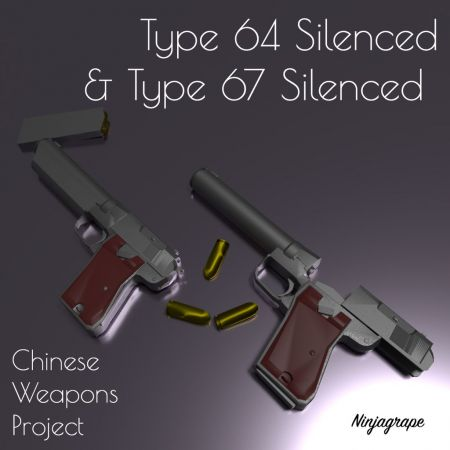 Type 64 and Type 67 Silenced Pistols(CWP)