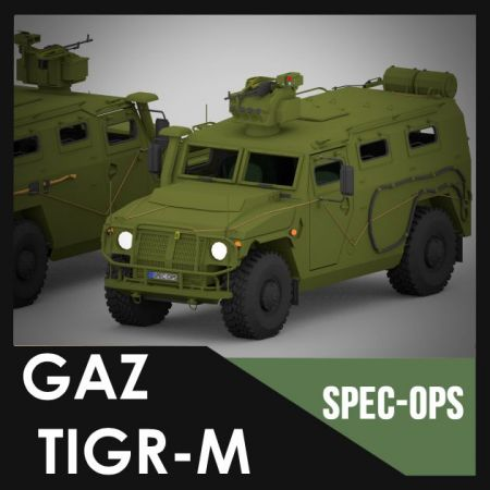 GAZ Tigr-M (Spec Ops Project)