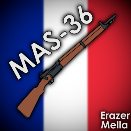 [WW2 Collection] MAS 36 remake
