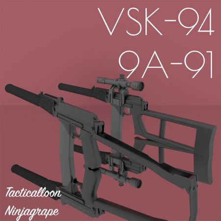 9A-91 and VSK-94