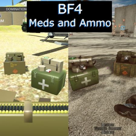 BF4 Meds and Ammo
