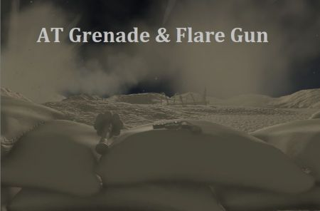 Commission - AT Grenade & Flare Gun