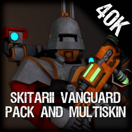 Skitarii Vanguard Pack (Multi-Skin)