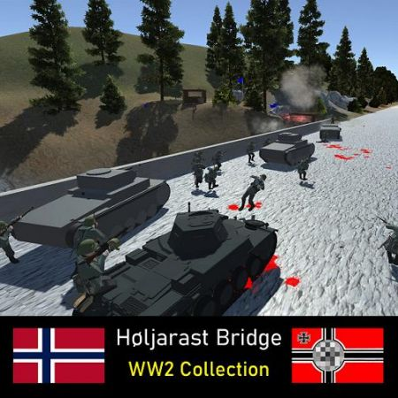 Høljarast Bridge | WW2 Collection