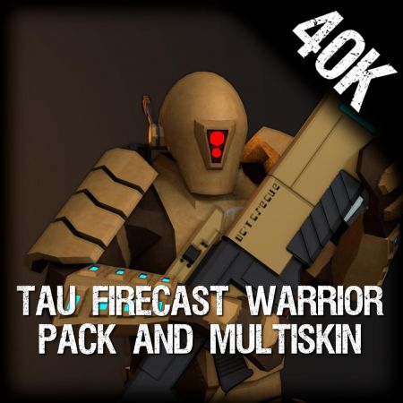 Tau Firecast Warrior Pack (Multi-Skin)
